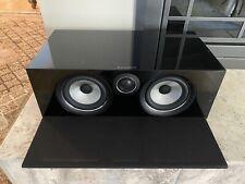 "New listing B&W Bowers Wilkins 700 Series Htm72 S2 Dual 5"" 2-way Center speaker Glossy Black"