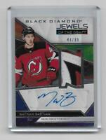 Nathan Bastian 2019-20 Black Diamond Jewels of The Draft Patch Auto 44/99 Devils