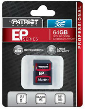 Patriot EP Series 64GB UHS-1 SDXC Memory Card With Read Up To 50MB/sec