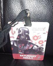 Star Wars Celebration VI Saturday Adult Pass Darth Vader