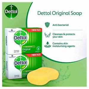Dettol Antibacterial Soap 100g Twin Packs  2 3 4 6 8 12