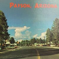 Payson Arizona Highway 87 Downtown Main Street View Chrome Unposted