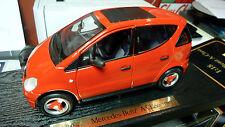 1/18 Maisto Mercedes Benz A Class red NOS mint in box