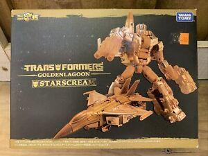 Takara Tomy Transformers Golden Lagoon StarScream Exclusive 35th New In Box