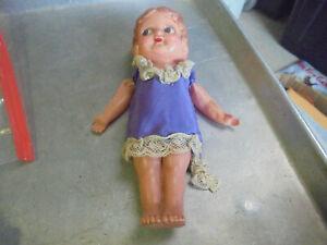 Vintage  Celluloid Flapper Doll Japan