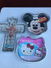 Wilton Hello Kitty Cake Pan Birthday Fun With Insert/Instructions EUC