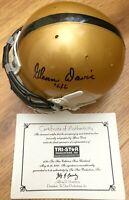 Glenn Davis autographed signed autograph auto Army mini helmet dated '46 TriStar
