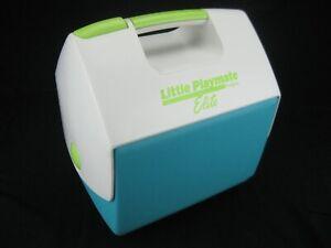 Vintage 2002 Igloo Little Playmate Elite Lime Green on White w/ Teal Base
