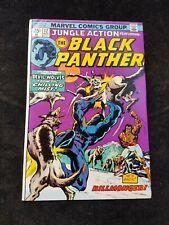 1974 Bronze Age Marvel Jungle Action BLACK PANTHER Comic Book No. 12