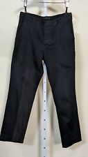 Helmut Lang Archive Vintage Black Chinos Side Straps Size 50 Italy