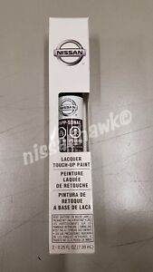 """OEM Nissan Touch-Up Paint + Clear Coat """"BLACK CHERRY"""" Color Code NAG"""