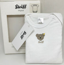 /%/%  STEIFF Newborn Lovely Day Shirt cream mit Teddybär Gr.56-86 NEU /%/%