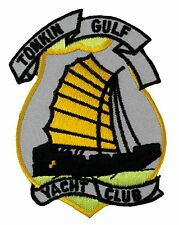 """Tonkin Gulf Yacht Club Patch (163) 2 1/2"""" x 3 1/2"""" Embroidered Patch 35914"""