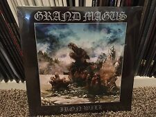 Grand Magus – Iron Will - CLEAR VINYL - LP RECORD