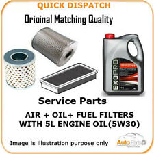 FOR MERCEDES-BENZ AIR OIL FUEL FILTERS  AND 5L ENGINE OIL MERCEDES-BENZ OEM QUAL