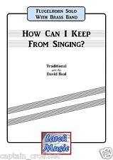 Comment puis-je garder de chant-flugel brass band musique-score et pièces * NOUVEAU *