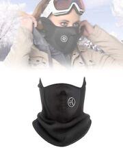 Maschera antivento in neoprene e pile - Protezione viso per sci, moto e bici