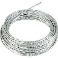 Stainless Steel Wire Rope cable 1mm 2mm 3mm 4mm 5mm 6mm FREE DELIVERY  UK SELLER