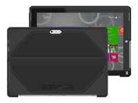 Griffin Survivor Rugged Case for Microsoft Surface Pro 3 Black -Kickstand Access