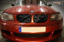BMW 1er E82 Coupé E88 Cabrio - Air Scoops Schwarz-