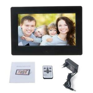 7 Inch Digital Picture Frame Photo Frame with TN Display Player with Remote
