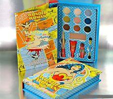 New Wonder Woman Beauty Book Makeup Eyes Lip Face Primer Palette Gift Set