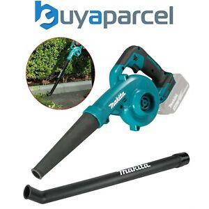 Makita DUB185Z 18v Cordless Garden Leaf Blower Variable Speed Bare + Long Nozzle