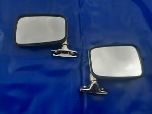 VW Golf 2 Jetta 2 Scirocco 1 53 Spiegel Retro Chromspiegel Chrom Außenspiegel e