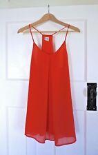 NEW! Cute Little Hot Red Mini Party Date Night Summer Dress size AU/UK 8