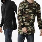 Fashion Men's Slim Warm Hooded Sweatshirt Hoodie Coat Jacket Outwear Sweater AU