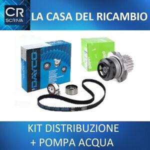 KIT DISTRIBUZIONE + POMPA ACQUA ALFA ROMEO 145 146 147 156 1.9 JTD