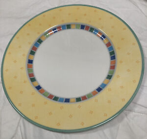Villeroy & Boch Twist Alea Limone Dinner Plates New With Tags Free Shipping