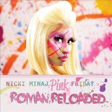 Nicki Minaj Pink Friday Roman Reloaded 2012 CD Starships, Beez in The Trap
