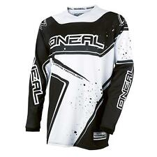 O'Neal Element Racewear Jersey Schwarz Weiß DH Downhill FR MTB BMX Mountain Bike