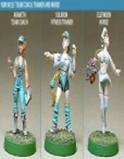 Shadowforge Female Elf Coaching Staff x 3