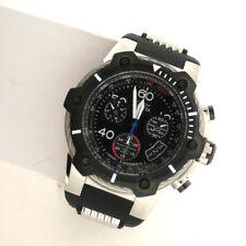 Invicta 25870 Bolt Black Chronograph Stainless Silicone Band Quartz Swiss Watch