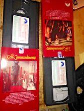 The Ten Commandments 40th Anniversary Collector's VHS Cecil B Demille's, Heston
