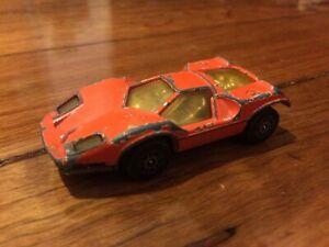 Corgi Juniors Whizzwheels Orange Marcos XP Made In Great Britain