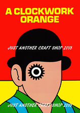 Clockwork Orange 1962 A4 Size Poster digitally restored 29.7cm x 21cm