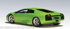 LAMBORGHINI MURCIELAGO VERDE ITHICA GREEN 1:18 BY AUTOart NEW IN BOX VERY RARE