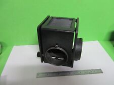 MICROSCOPE PART NIKON JAPAN LAMP HOUSING ILLUMINATOR AS PICTURED BIN#T4-06