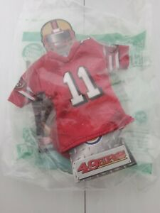 NFL Mini Jersey 2007 Burger King San Francisco 49ers #11 Alex Smith.
