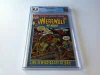 WEREWOLF BY NIGHT 2 CGC 8.5 ORIGIN MARVEL COMICS