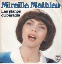 45TRS VINYL 7''/ FRENCH SP MIREILLE MATHIEU / LES PIANOS DU PARADIS