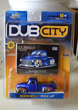 "JADA TOYS ""DUB CITY"" 1953 CHEVY PICK UP NEW"