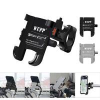 Universal Motorcycle Handlebar Mobile Phone Holder Motorbike Mount USB Charge