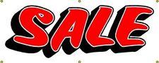 """Sale Banner Advertising Commercial Retail 54"""" x 24"""" Vinyl Outdoor Indoor Sign"""