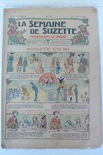 LA SEMAINE DE SUZETTE  5ème ANNEE  1909  -  N° 19