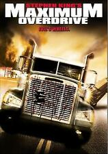 Maximum Overdrive STEPHEN KING  DVD  new and sealed