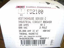 FD2100 CUTLER HAMMER BREAKER NIB OLD STOCK